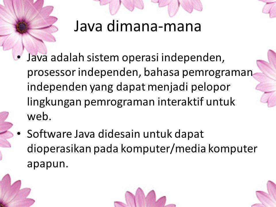 Java dimana-mana