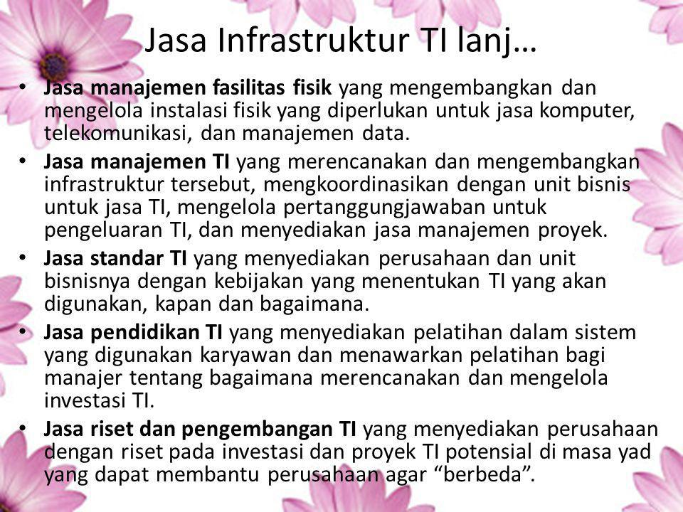 Jasa Infrastruktur TI lanj…