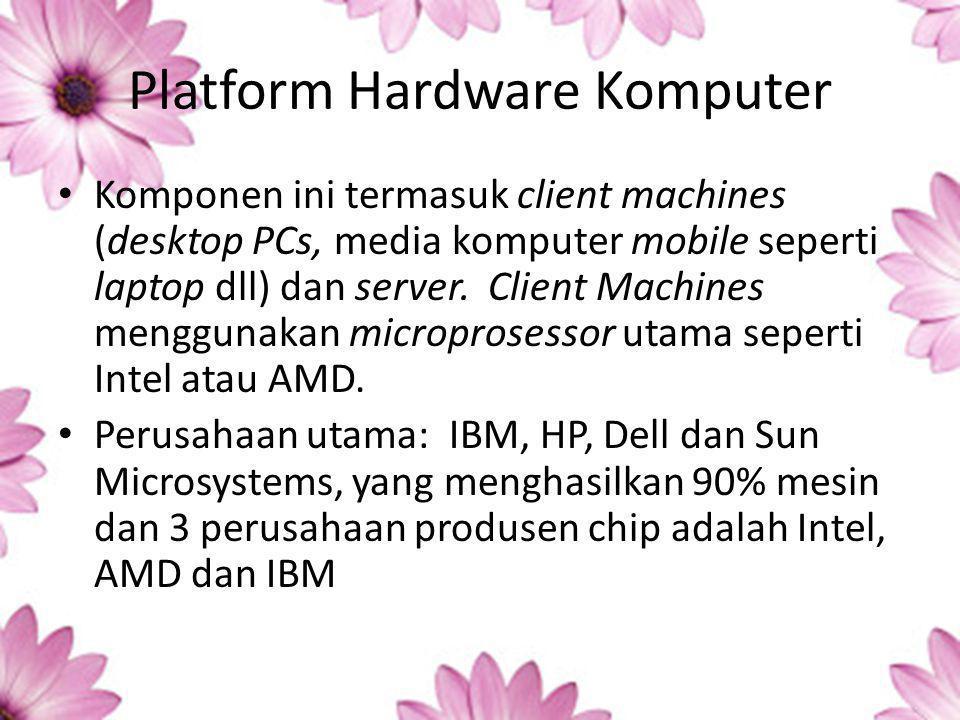 Platform Hardware Komputer