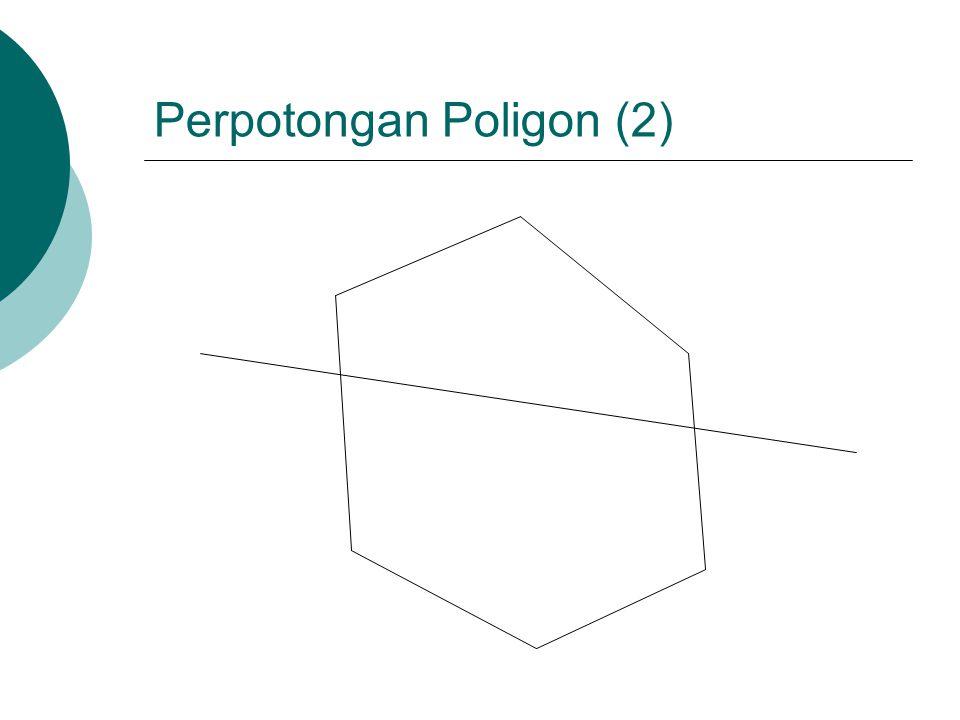 Perpotongan Poligon (2)