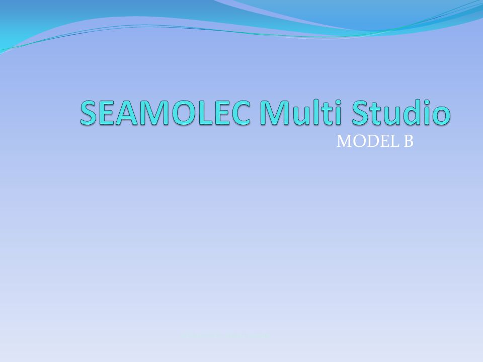 SEAMOLEC Multi Studio MODEL B SEAMOLEC Multi Studio