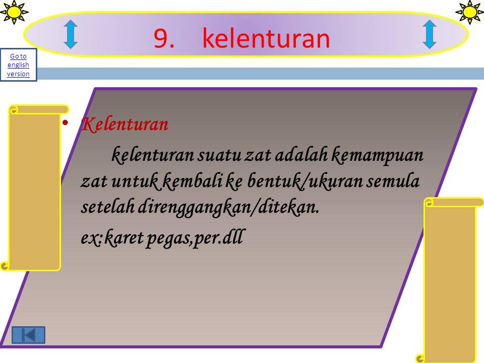 9. kelenturan Kelenturan
