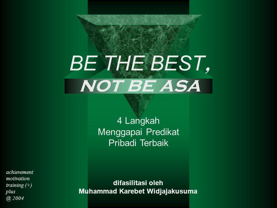 difasilitasi oleh Muhammad Karebet Widjajakusuma