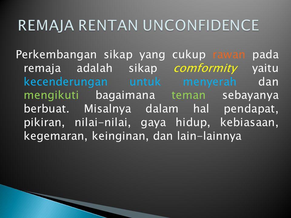 REMAJA RENTAN UNCONFIDENCE