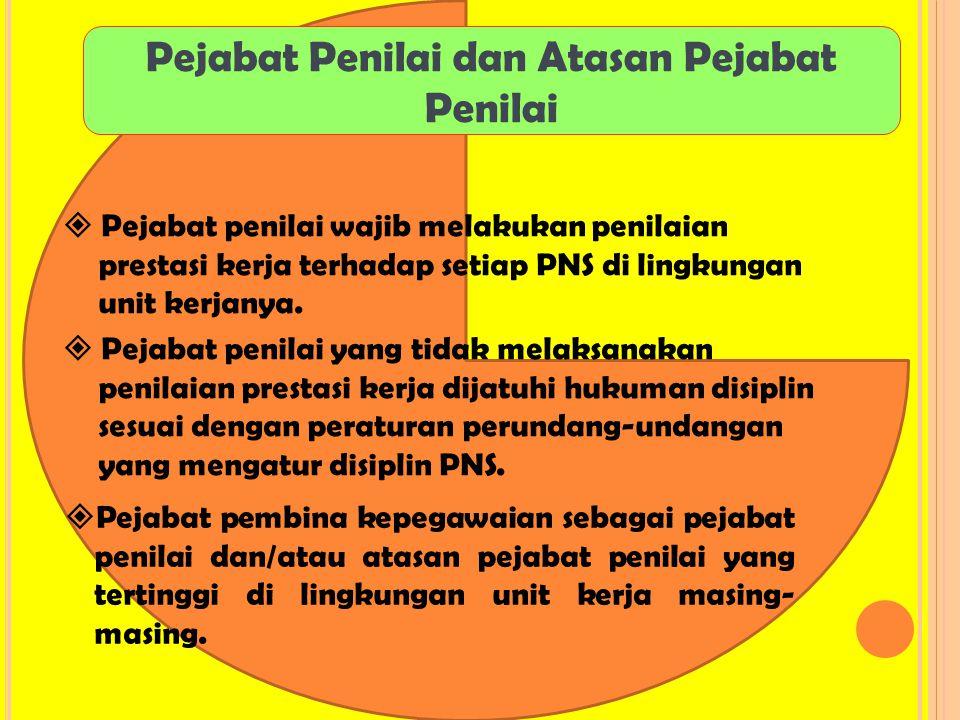 Pejabat Penilai dan Atasan Pejabat Penilai
