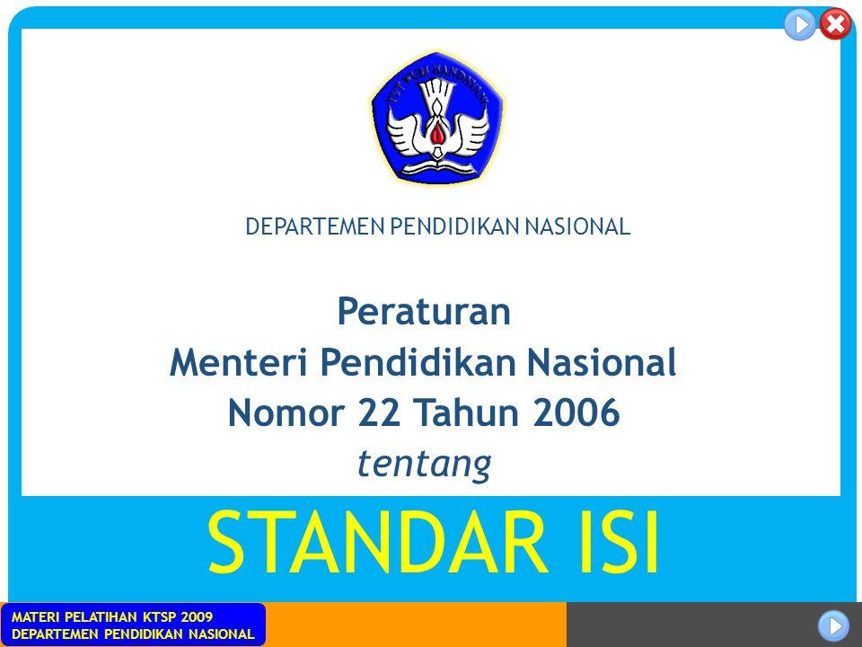 Menteri Pendidikan Nasional