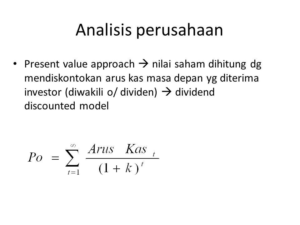Analisis perusahaan