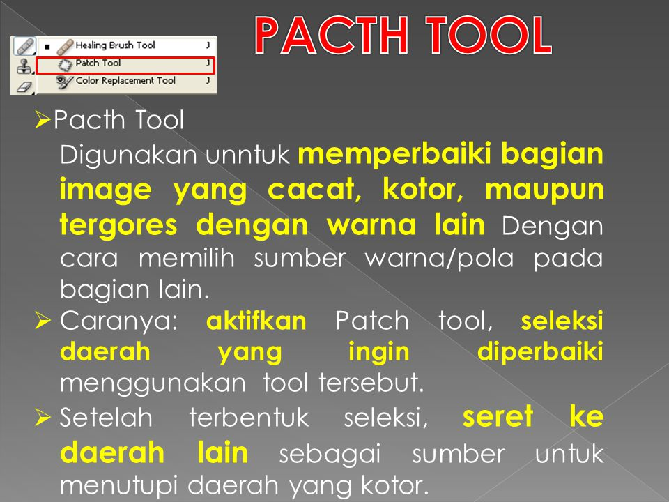 PACTH TOOL Pacth Tool.