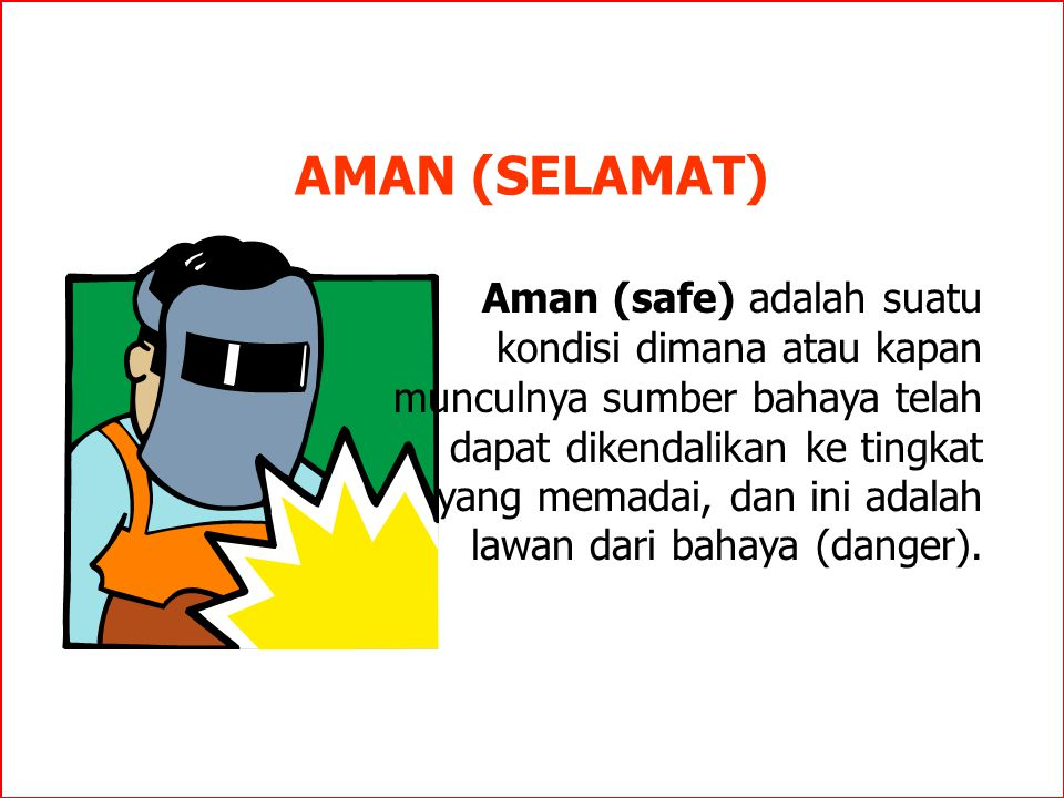 AMAN (SELAMAT)