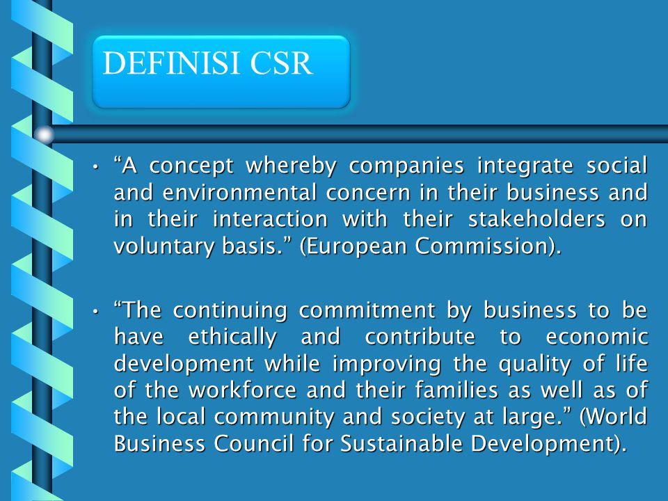 DEFINISI CSR