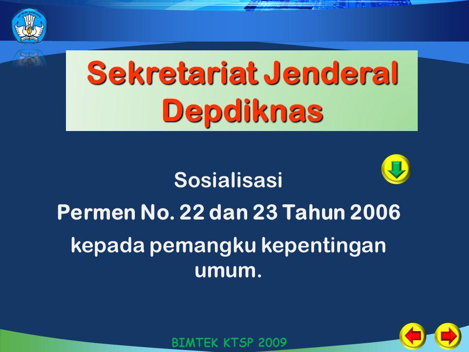 Sekretariat Jenderal Depdiknas