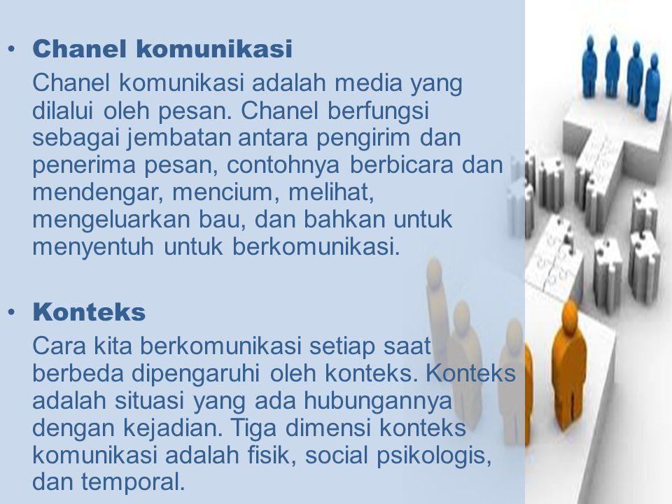 Chanel komunikasi