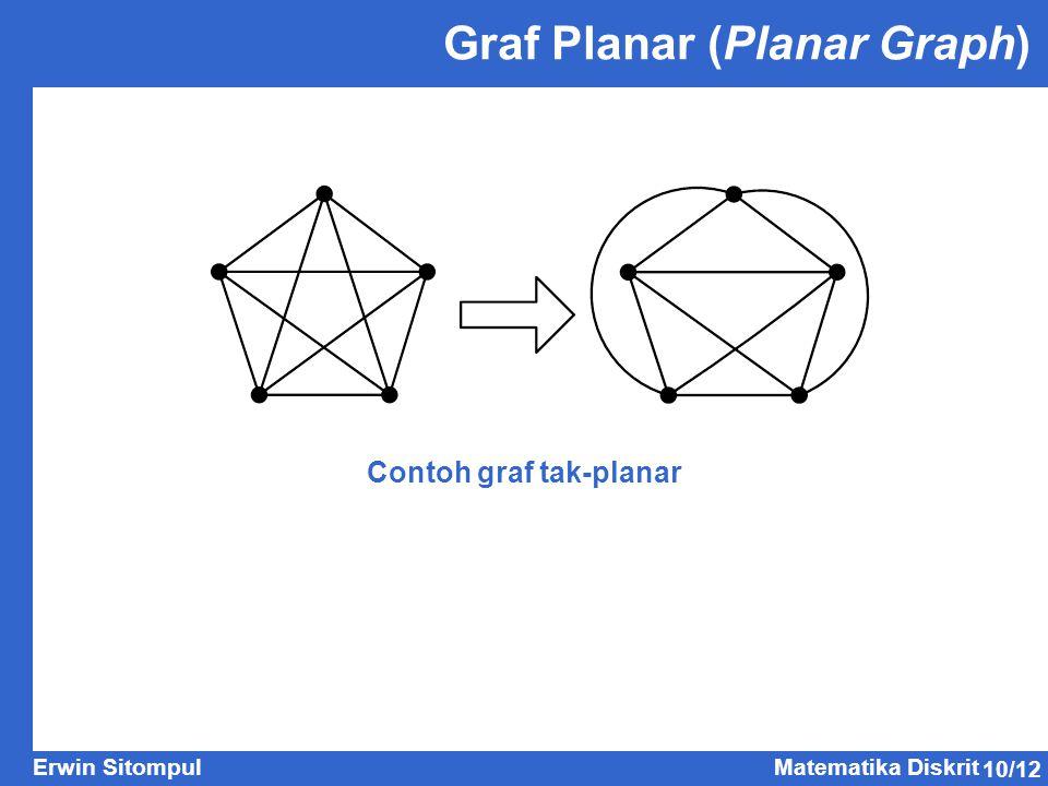 Graf Planar (Planar Graph)