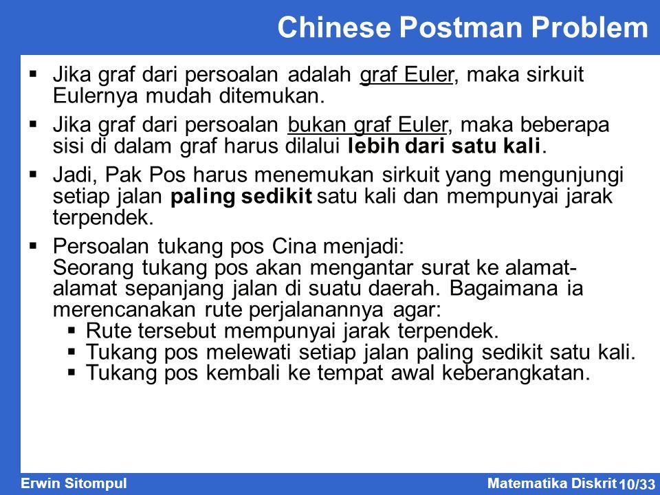 Chinese Postman Problem
