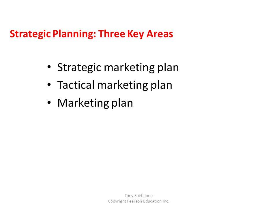 Strategic Planning: Three Key Areas