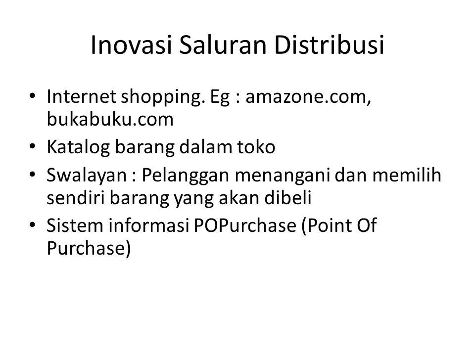 Inovasi Saluran Distribusi