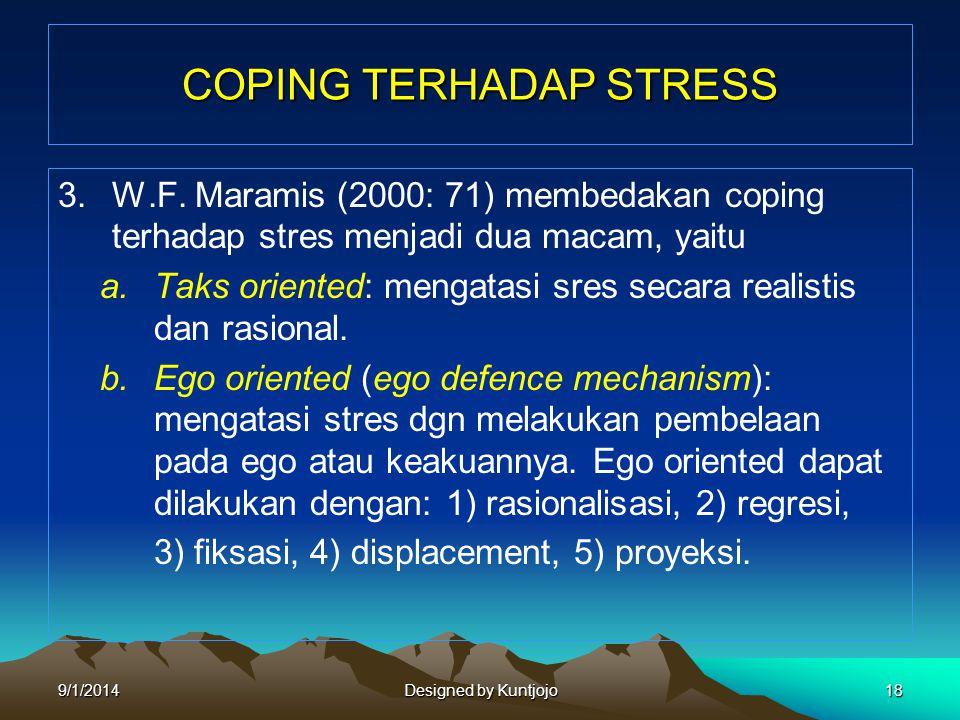 COPING TERHADAP STRESS