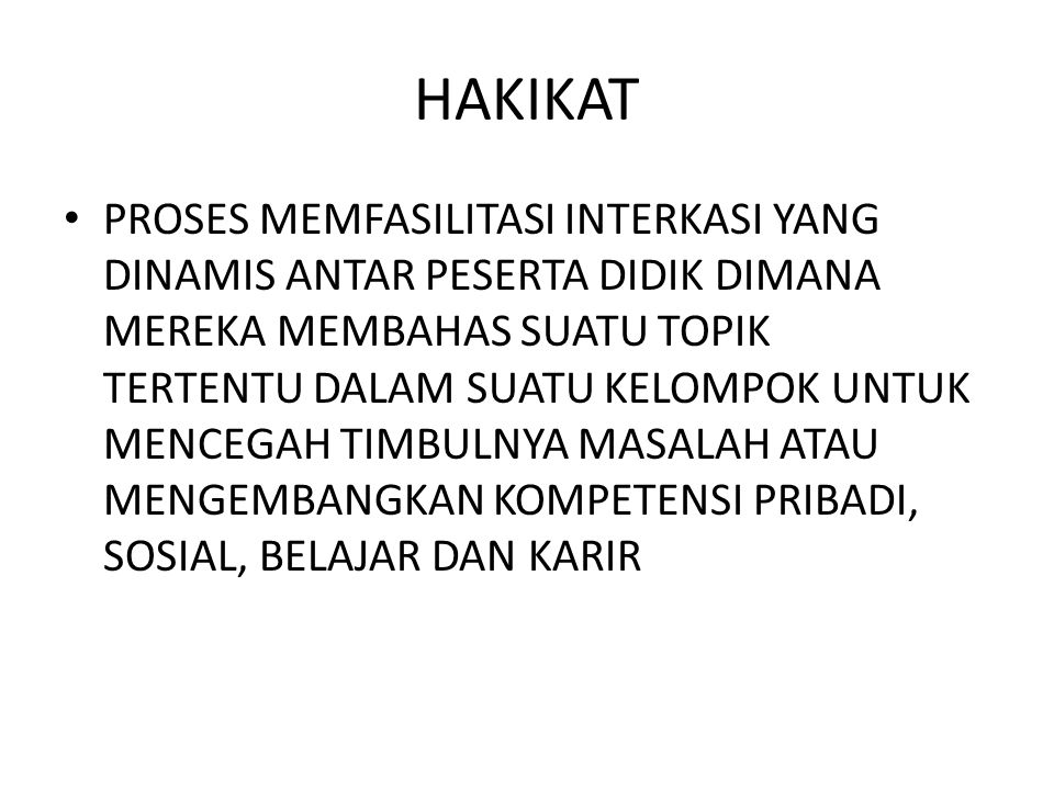 HAKIKAT
