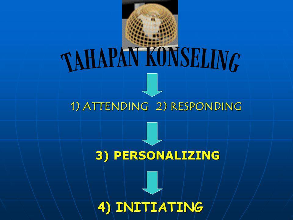 1) ATTENDING 2) RESPONDING