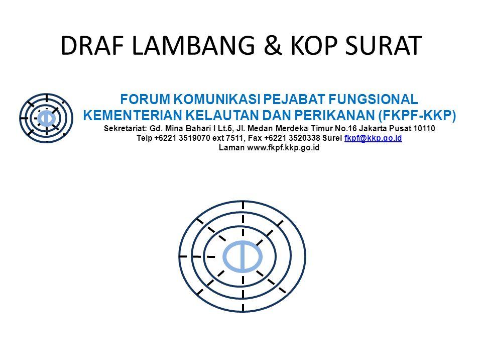 DRAF LAMBANG & KOP SURAT