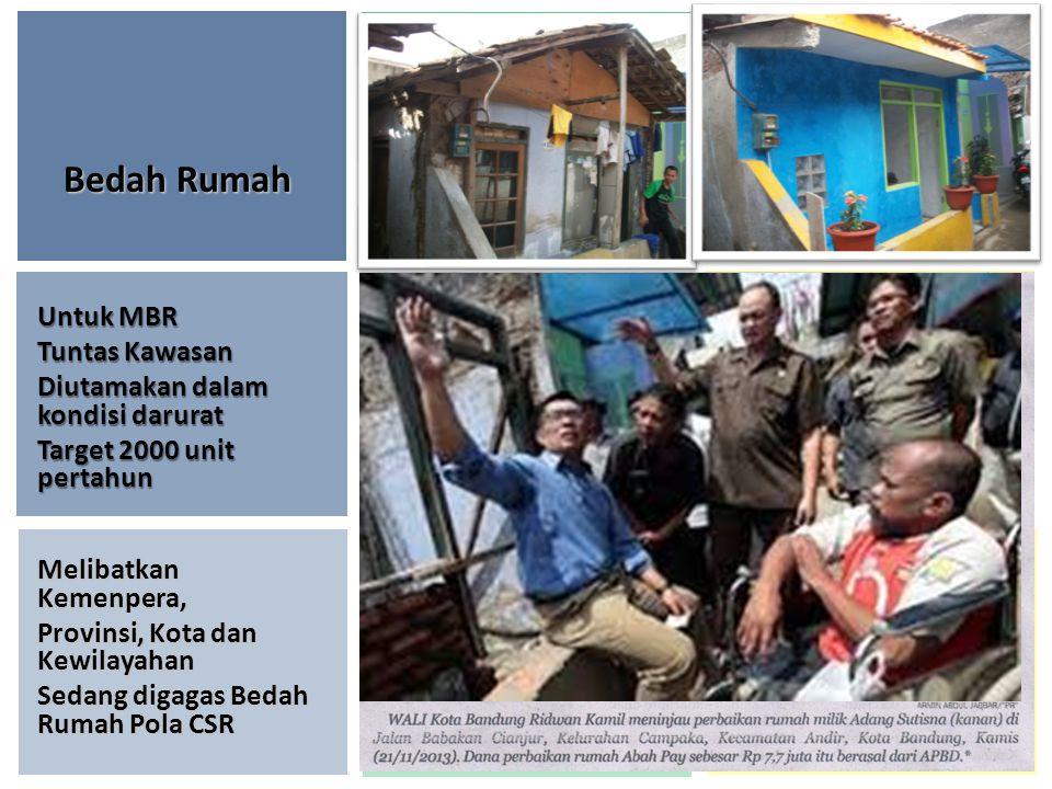Bedah Rumah Untuk MBR Tuntas Kawasan Diutamakan dalam kondisi darurat