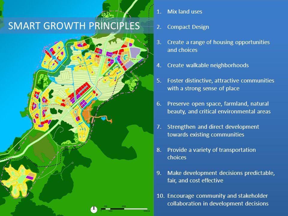 SMART GROWTH PRINCIPLES