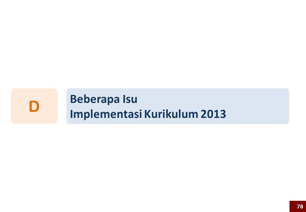 D Beberapa Isu Implementasi Kurikulum 2013 78