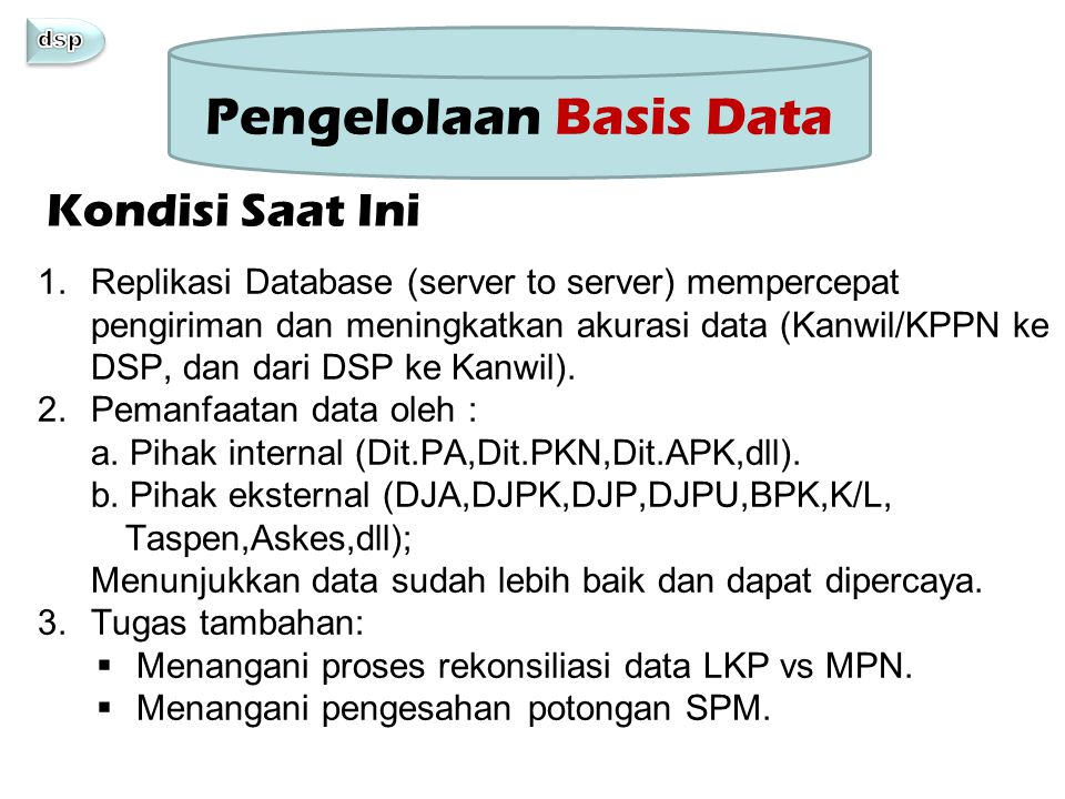 Pengelolaan Basis Data