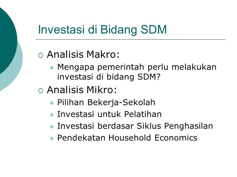 Investasi di Bidang SDM