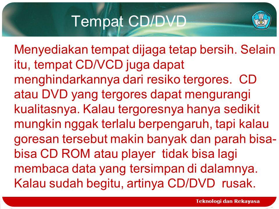 Tempat CD/DVD