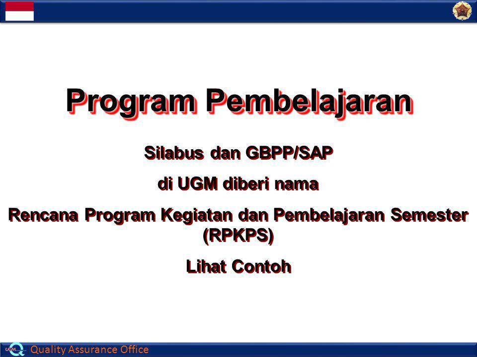 Rencana Program Kegiatan dan Pembelajaran Semester (RPKPS)