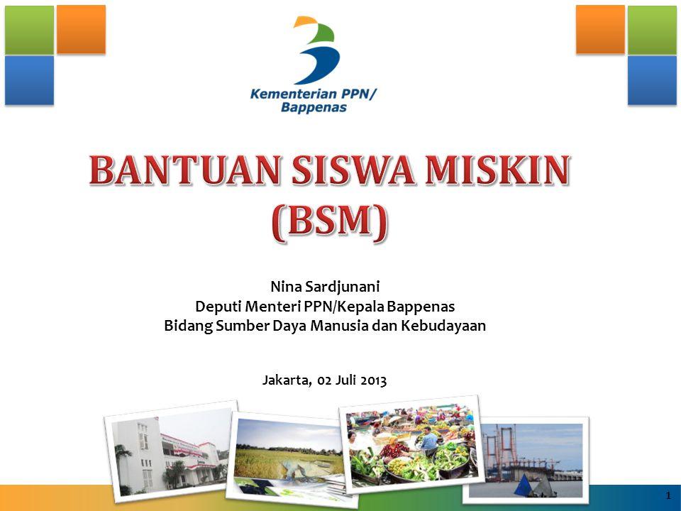 BANTUAN SISWA MISKIN (BSM)