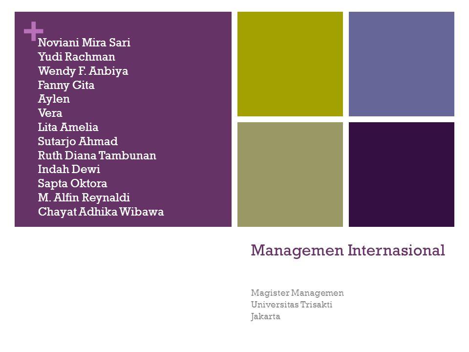 Managemen Internasional