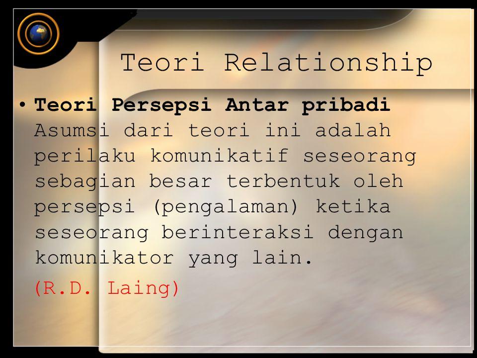 Teori Relationship