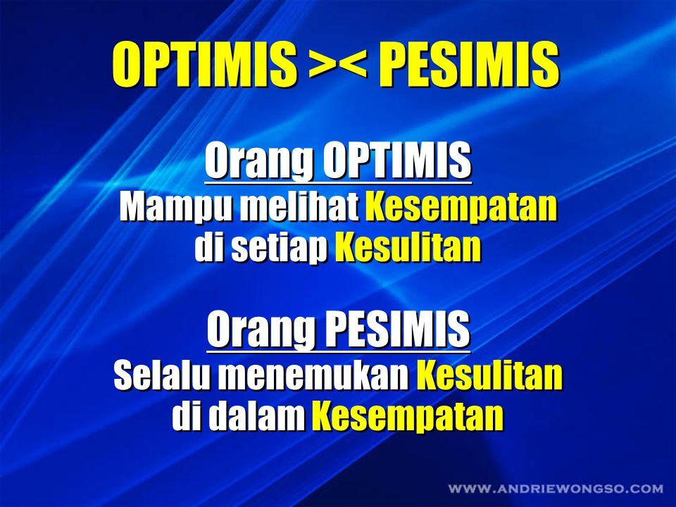 OPTIMIS >< PESIMIS