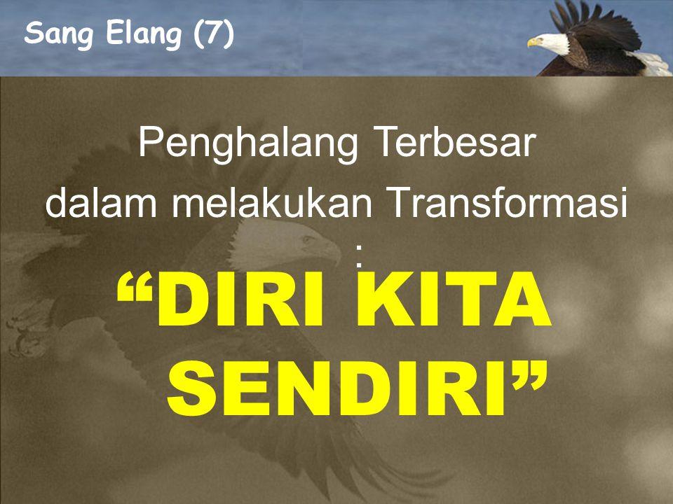 dalam melakukan Transformasi :