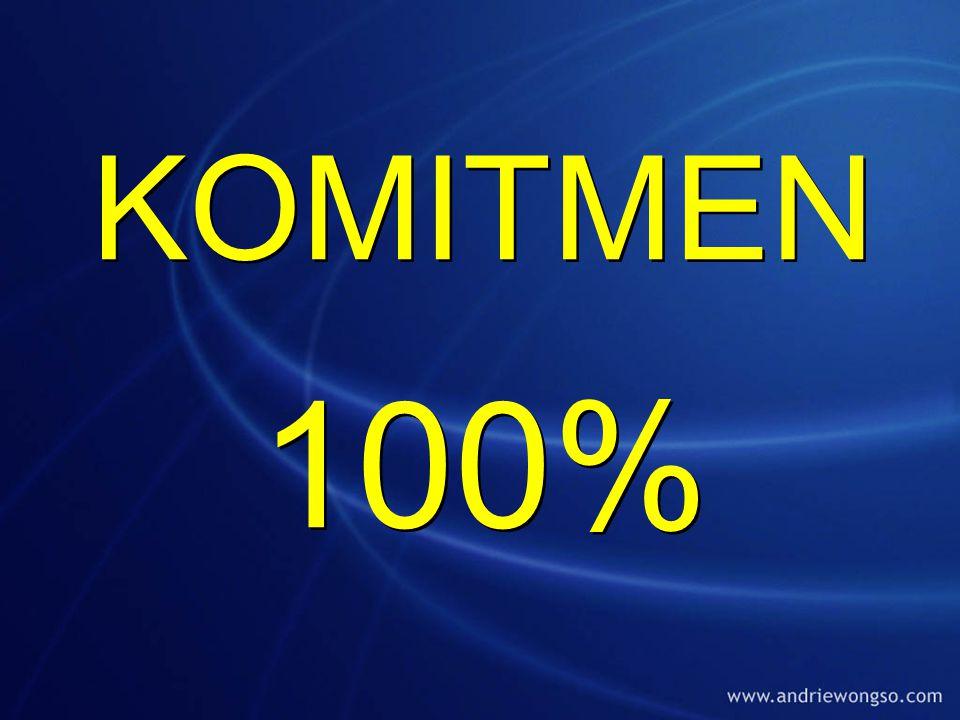 KOMITMEN 100%