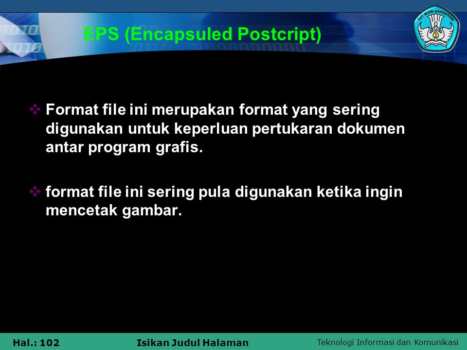EPS (Encapsuled Postcript)