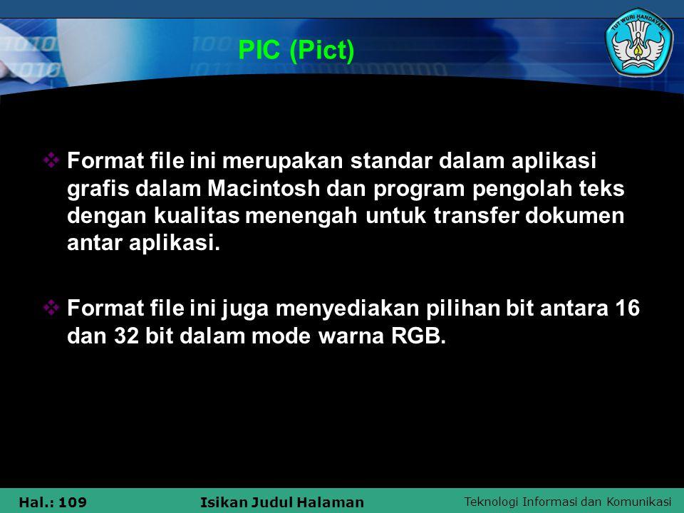 PIC (Pict)