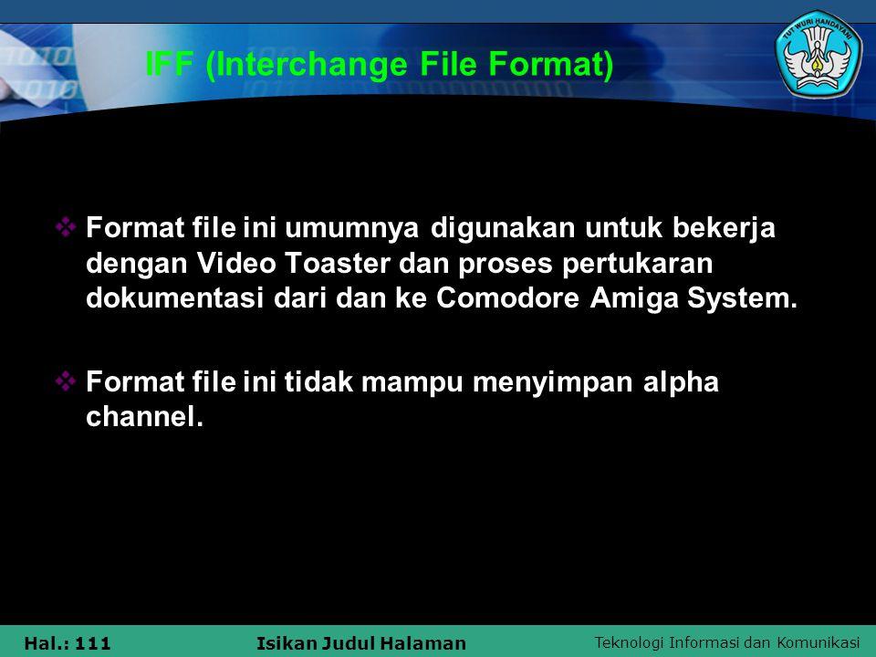 IFF (Interchange File Format)