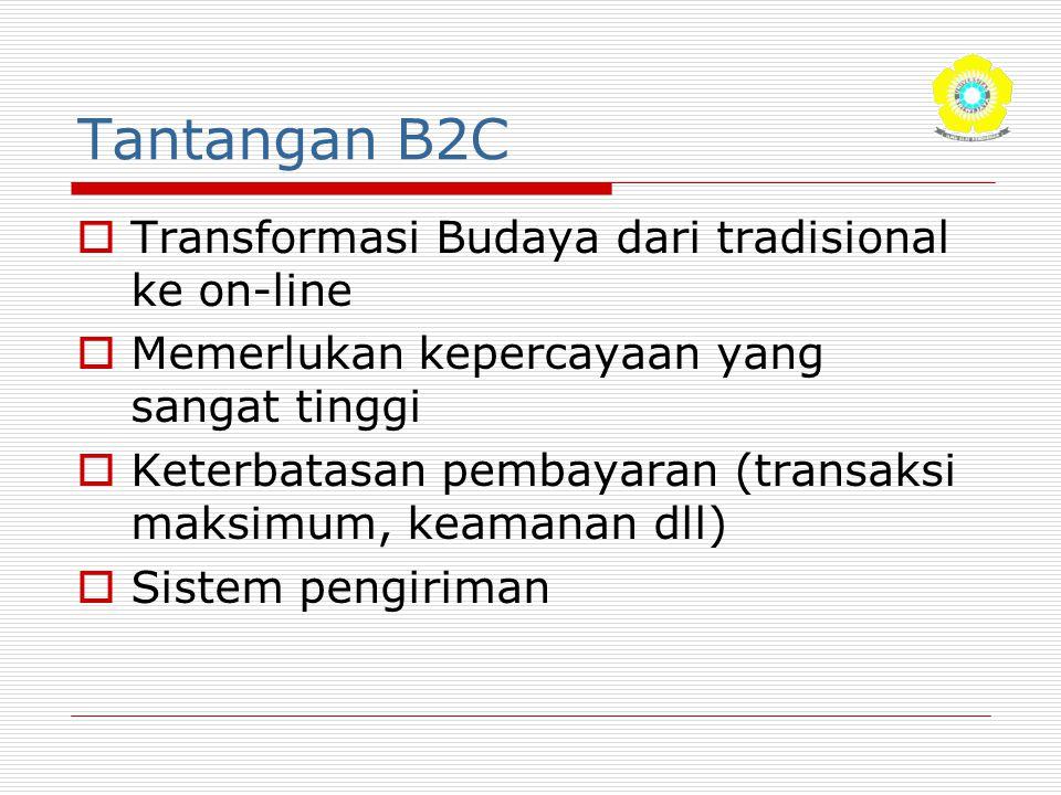 Tantangan B2C Transformasi Budaya dari tradisional ke on-line