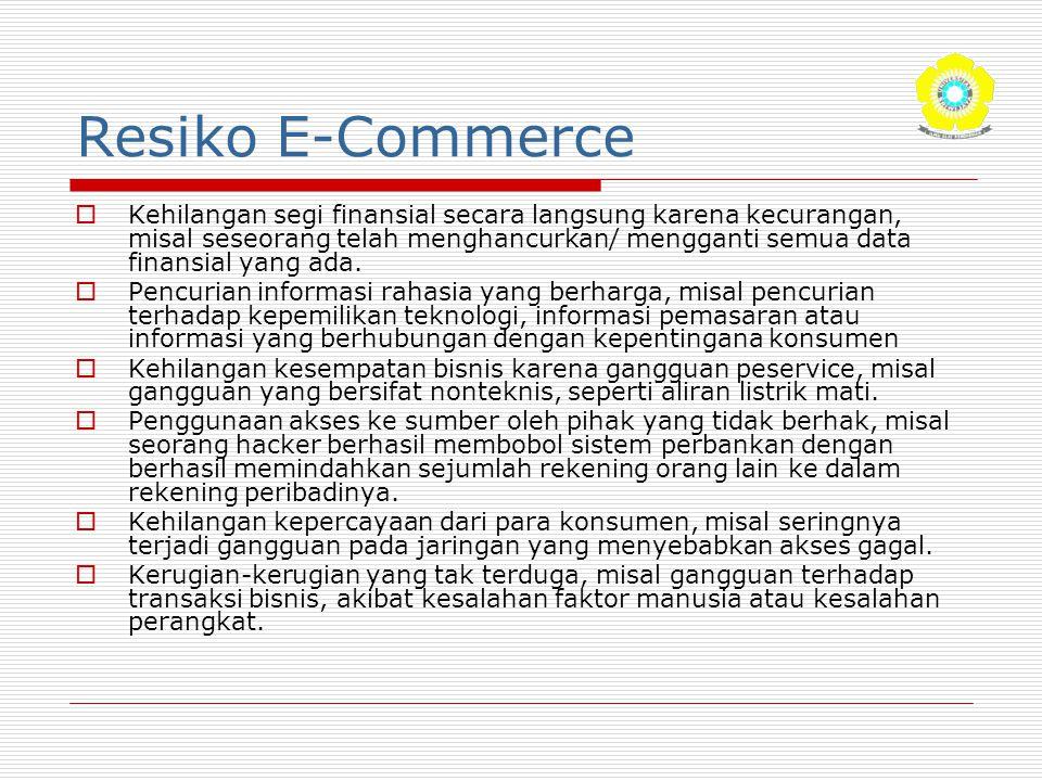 Resiko E-Commerce