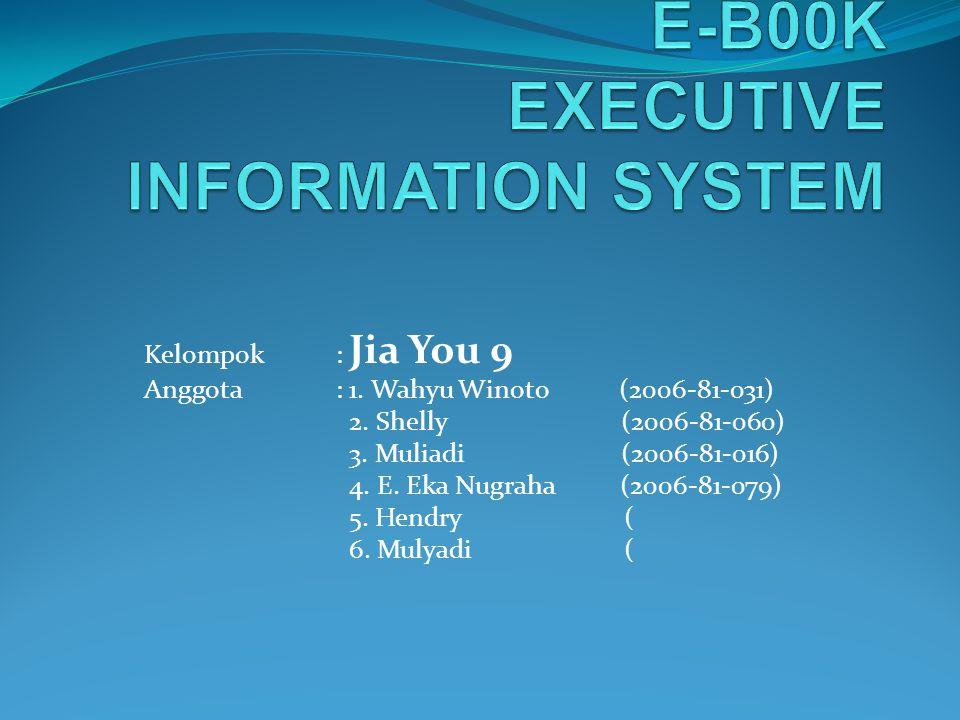 E-B00K EXECUTIVE INFORMATION SYSTEM