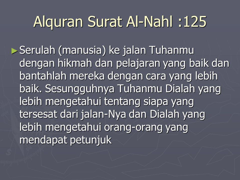 Alquran Surat Al-Nahl :125