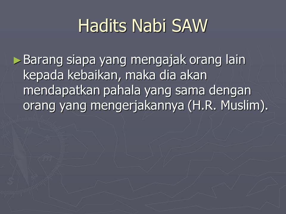 Hadits Nabi SAW