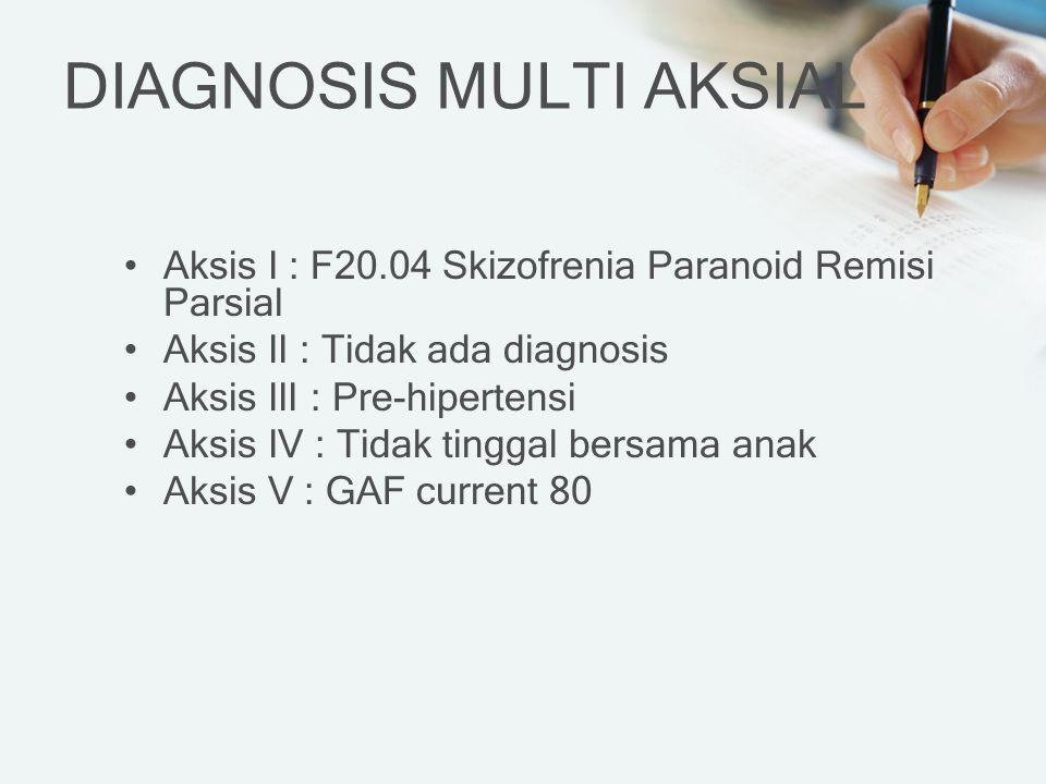 DIAGNOSIS MULTI AKSIAL
