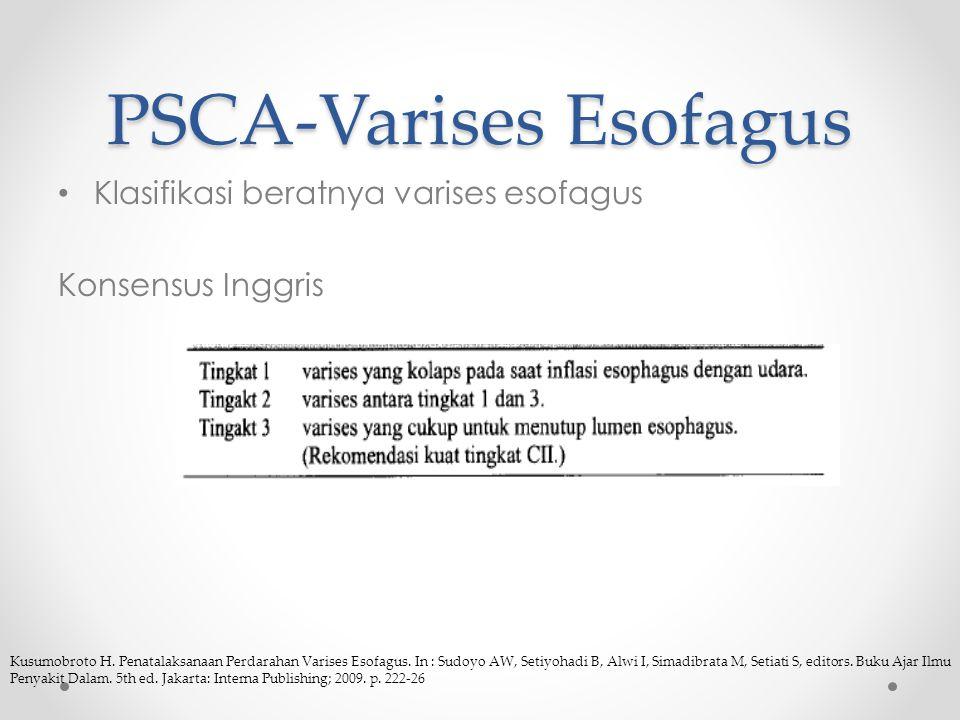 PSCA-Varises Esofagus