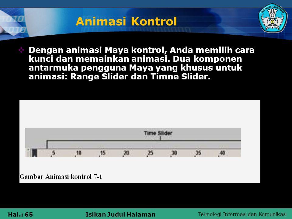 Animasi Kontrol