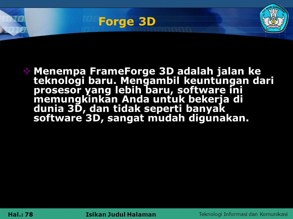 Forge 3D