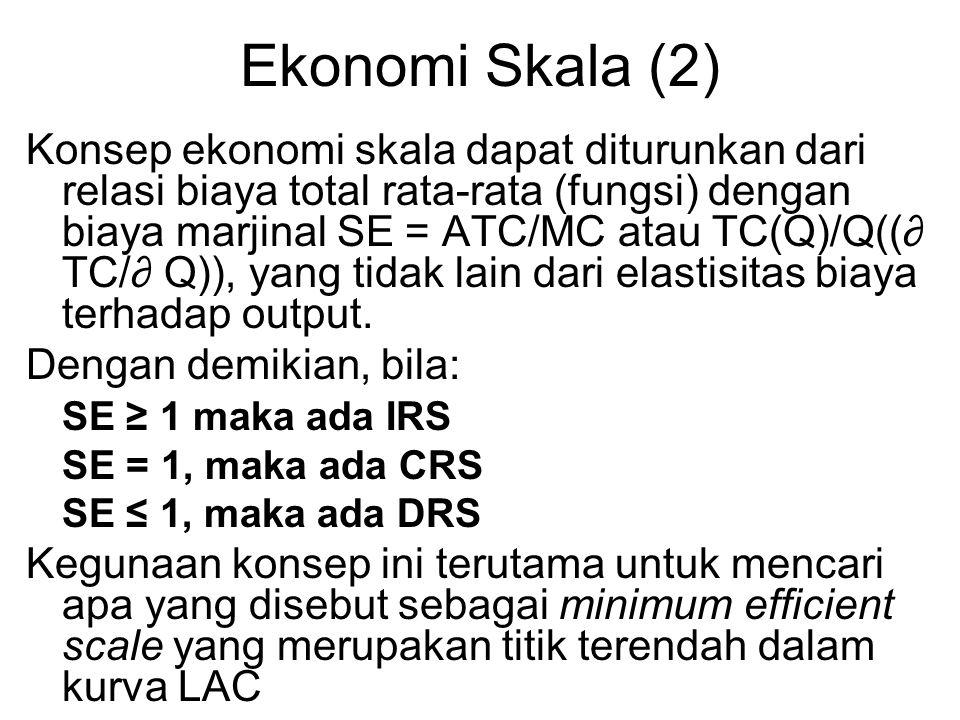Ekonomi Skala (2)